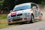 SUZUKI-RLP Rallye Junior Team  übernimmt die Führung in der SRM