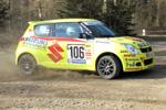 SUZUKI-Saar Rallye Junior Team überzeugt in der Eifel