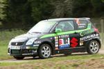 Marijan Griebel startet erfolgreich in die Saarländische Rallye Meisterschaft