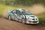 Zuschauermagnet Rallye Saar-Ost: Berlandy auf dem Treppchen