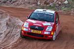 Griebel fährt sich warm für ADAC OPEL Rallye Cup