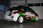 Langersehnter Start im Opel Adam für Felix Griebel und Anna-Carin Föhner