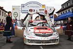 Doppelführung für Wallenwein Rallye Sport