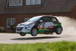 Erstes Erfolgserlebnis für Griebel/Föhner im Opel Adam
