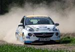 Marijan Griebel mit Top-Resultat beim ADAC Rallye Masters in Sulingen