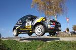 Eine Sekunde entscheidet ADAC OPEL Rallye Cup zugunsten von Markus Fahrner
