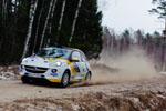 Saarland Pfalz – Hohe Erwartungen im ADAC Opel Rallye Junior Team