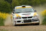 Mitsubishi-Duo gewinnt Löwenrallye Birkenfeld