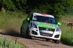 Suzuki Junioren-Erster Saisonsieg bei der Rallye Saar Ost