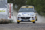 Thüringen – schwere Aufgabe für das ADAC Opel Rallye Junior Team