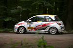 Heimspiel für den ADAC Opel Rallye Cup
