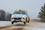 ADAC Opel Rallye Junior Team gewinnt den EM-Auftakt