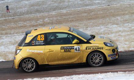 Erfolgreicher Saisonstart für Felix Griebel im ADAC Opel Rallye Cup