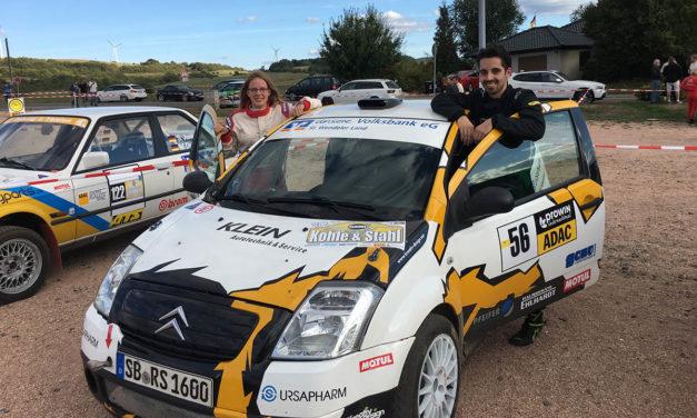 Hamadeh-Spaniol überzeugt mit Sieg bei Rallye Kohle & Stahl